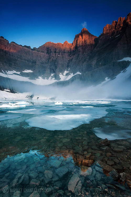 Good Morning Iceberg Lake