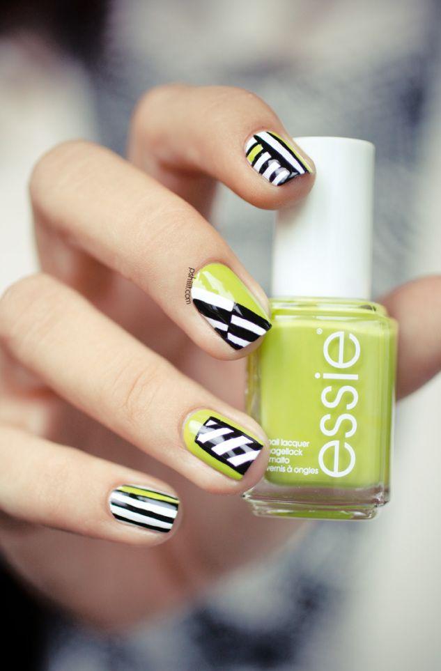 Cute nail art 6 angry alpha nerds - Melange de couleur pour obtenir du beige ...