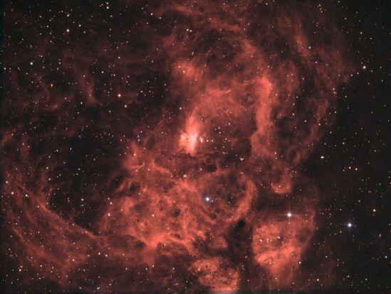 NGC 6357 HaLRGB